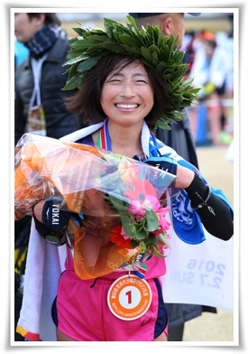 FEBRUARY 7, 2016 - Marathon :  The 65th Beppu Oita Mainichi Marathon in Oita, Japan.  (Photo by Yohei Osada/AFLO SPORT)